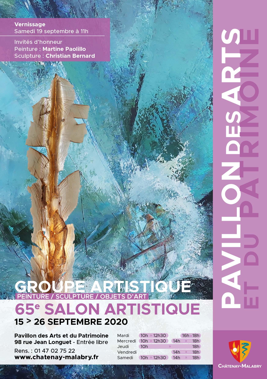 TractA5_65e Salon Artistique Septembre 2020_V03